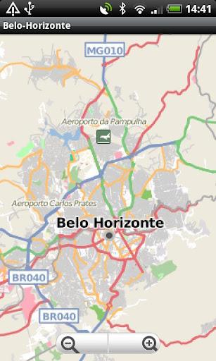 Belo-Horizonte Street Map