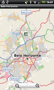 Belo-Horizonte Street Map - screenshot
