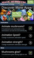 Screenshot of Magic Mushrooms LWP HD