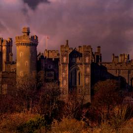 Arundel Castle by Oliver Kluwe - Buildings & Architecture Public & Historical ( arundel )