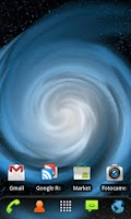 Screenshot of RLW Theme Galaxy Blue