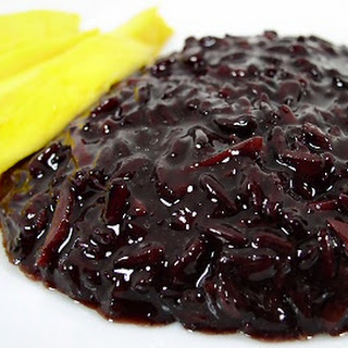 Coconut Black Rice Pudding