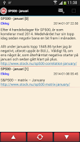 Screenshot of Börssnack