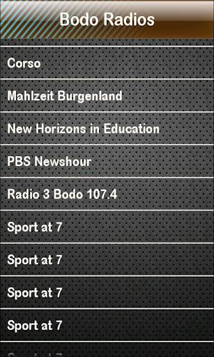Bodo Radio Bodo Radios