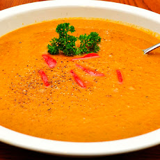 Indian Spiced Sweet Potato Soup