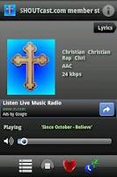 Screenshot of Christian Radio