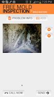 Screenshot of Free Mold Inspection App