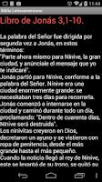 Screenshot of Biblia Latinoamericana Spanish