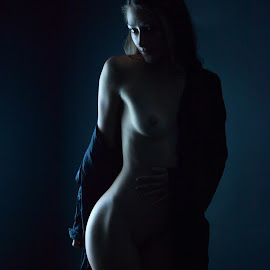 Ms. E (2) by Troy Phifer III - Nudes & Boudoir Boudoir ( nude, boudoir, dark, light, robe )