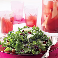 Daphne Oz's Kale Salad With Fruit and Hazelnuts