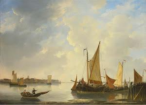 RIJKS: Christiaan Lodewijk Willem Dreibholtz: painting 1837