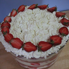 Strawberry Cream Trifle