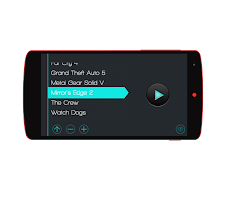 Screenshot of AndroG - Game Controller