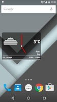 Screenshot of Boxy Clock Widget