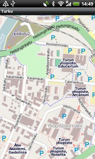 【免費旅遊App】Turku Street Map-APP點子