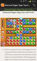 Screenshot of Diamond Digger Saga Tips Guide