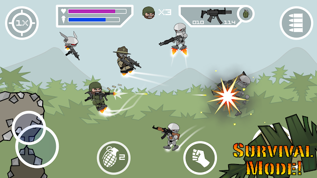 Doodle Army 2 : Mini Militia APK screenshot thumbnail 8