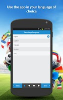 Screenshot of inFootball (Worldcup edition)