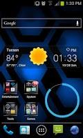 Screenshot of Jelly Bean Blue Hex Lite LWP