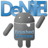 Brushed Chrome CM11/AOKP Theme APK for Blackberry