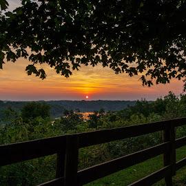 Time to wake up by Nathan Pentecost - Landscapes Sunsets & Sunrises ( stitched, park, lake, sunrise, landscape )