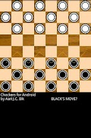 Screenshot of Checkers for Android