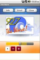Screenshot of The Wave