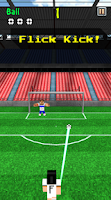 Screenshot of Pixel Soccer - Flick Free Kick