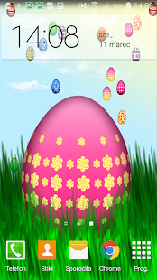 Easter Wallpaper Animated Eggs - screenshot