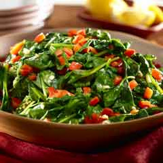 Sauteed Spinach With Red Pepper Recipes