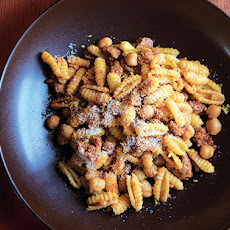 Pasta with Chorizo and Chickpeas