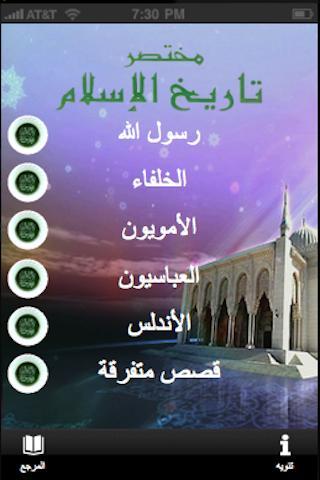 مختصر التاريخ الاسلامي