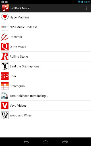 red-brick-music-news for android screenshot