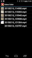 Screenshot of Spy Video Recorder PRO