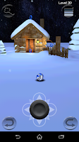Screenshot of Ball Travel 3D Xmas Version
