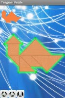Screenshot of Tangram Puzzle(Hard)