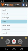 Screenshot of Waze Rec Lite