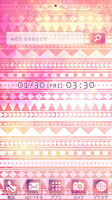 Screenshot of Cute wallpaper★geometric pink