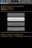 Screenshot of WiFi@Home