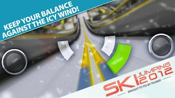Screenshot of Ski Jumping 12 Free