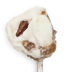 Moonshine & Corn Syrup Custard with Pecans Ice Cream
