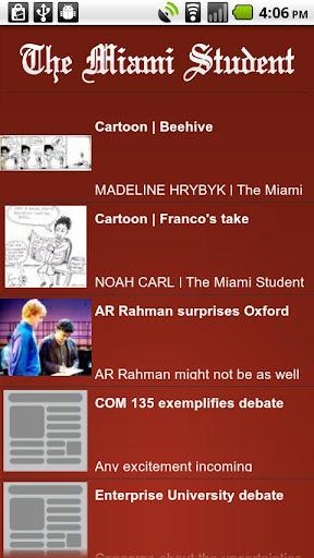 The Miami Student's Guide