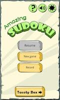 Screenshot of Amazing SUDOKU