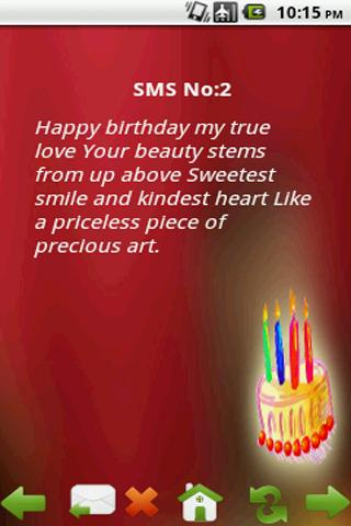 Happy Birthday Sms Download