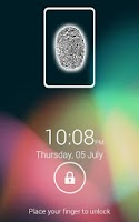 Screenshot of Fingerprint Screen Lock JB