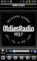 Screenshot of Oldies Radio 103,7