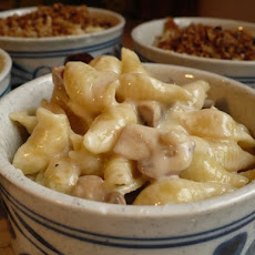 Les Frères Mac & Cheese with Mushrooms