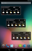 Screenshot of Trentino Meteo Widget