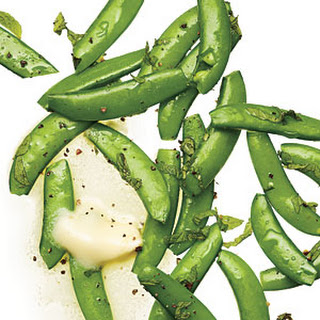 Steamed Sugar Snap Peas