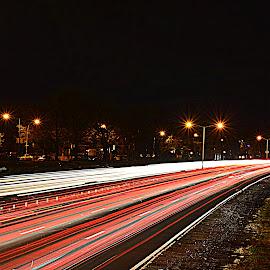 by Andrew Piekut - City,  Street & Park  Street Scenes